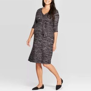 NWT Isabel Maternity Tie Front Dress Size XXL